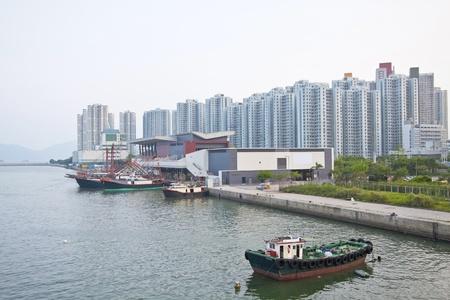 Tuen Mun, one of a Hong Kong downtown. Stock Photo - 11834719