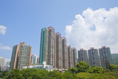 Tuen Mun, one of a Hong Kong downtown. Stock Photo - 11834678