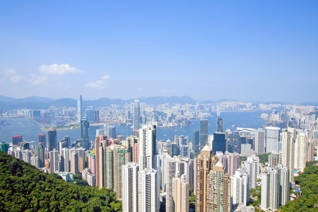 Hong Kong at day photo
