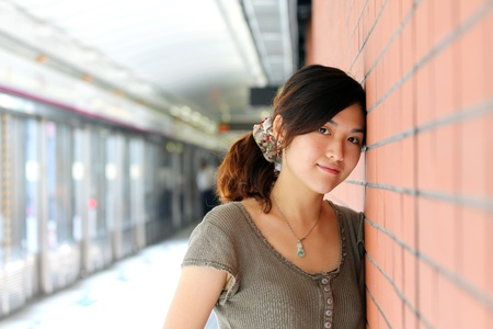 A beautiful asian woman Stock Photo - 12041680