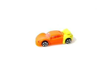 Toy car isolated on white background Stock Photo - 12362193