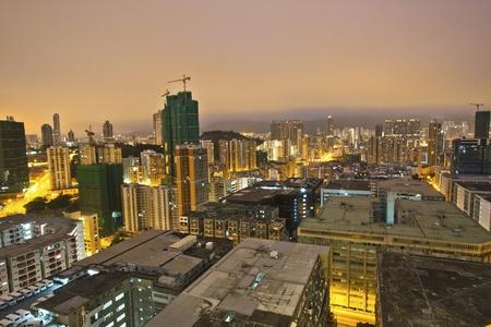 Hong Kong morning at downtown Stock Photo - 12316283