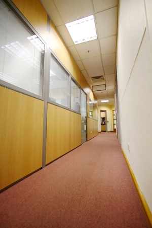 Corridor in office