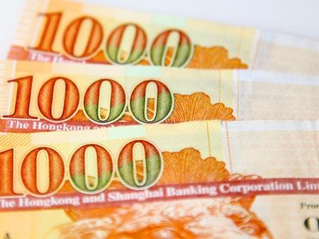 one hundred dollar bill: Hong Kong thousands dollar