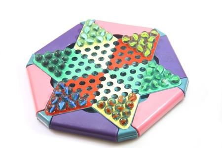 Chinese checkers game photo