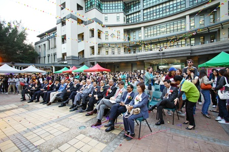 HONG KONG - OCT 27, International Day helds on Lingnan University in Hong Kong on 27 October, 2010. It is an annual event. Stock Photo - 12689711