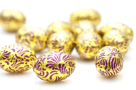 Easter eggs background Stock Photo - 12688888