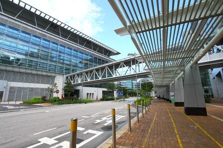 Korridor in Hong Kong Science Park Editorial