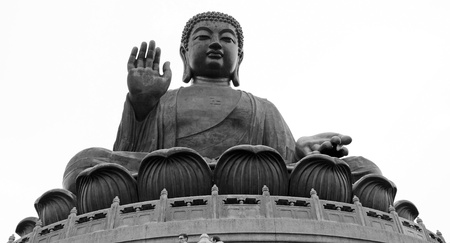 The Big Buddha in Hong Kong photo