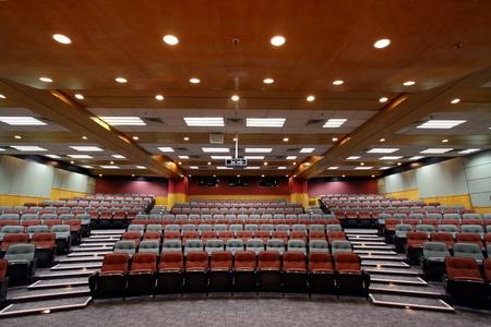 Sala de conferencias en una universidad