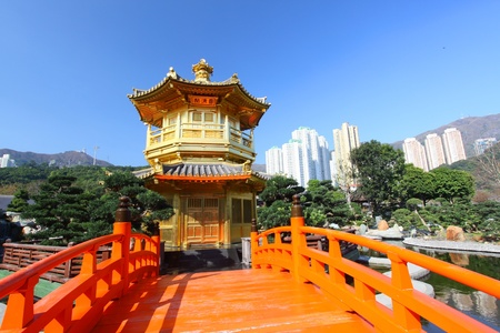 The Pavilion of Absolute Perfection in the Nan Lian Garden  Stock Photo - 12717285