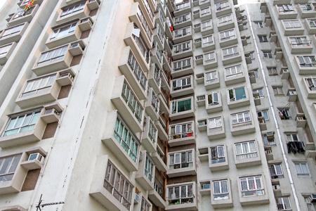 Hong Kong housing estate Stock Photo - 12717293
