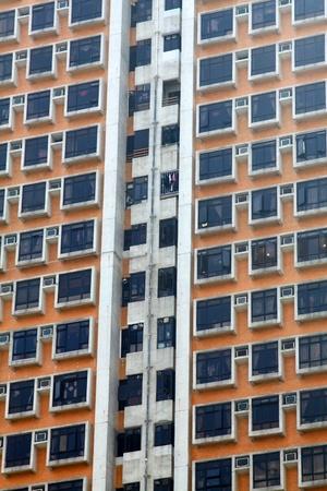 Hong Kong packed housing Stock Photo - 12717384