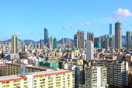 Hong Kong downtown at day time Stock Photo - 12717276