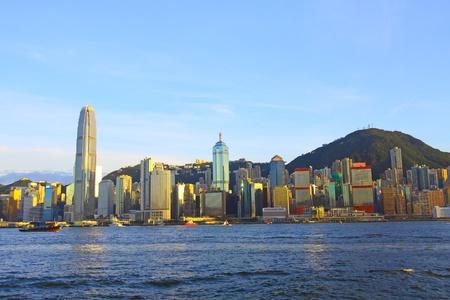 Hong Kong downtown at day time Stock Photo - 12717393