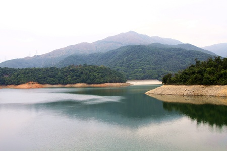 Reservoir in Hong Kong photo