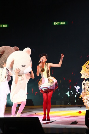 Gigi Leung Concert in Hong Kong 2011