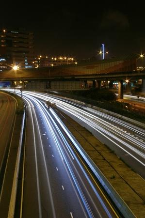 Traffic in modern city Stock Photo - 12976146