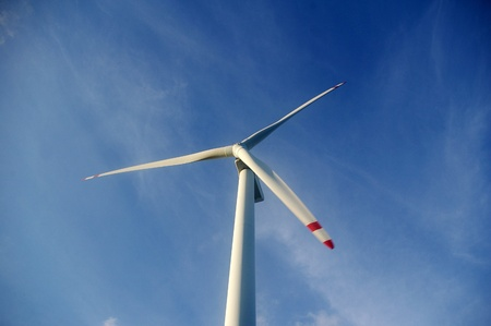 Wind turbine in Hong Kong photo