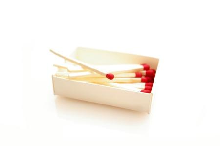 Matches isolated on white background Stock Photo - 12969101