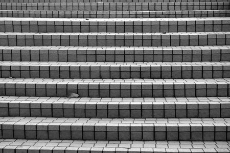 Stairs in black and white tone Stock Photo - 12978157