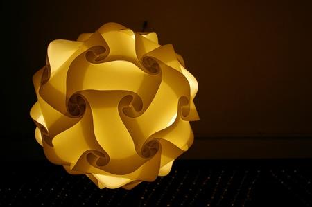 Round lamp  photo