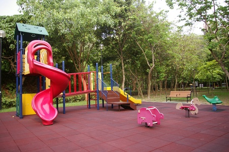 Colorful playground Imagens