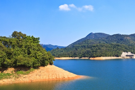 Lake landscape in Hong Kong Stock Photo - 13487248
