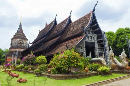 Wat lok moli temple in Chiang Mai, Thailand.