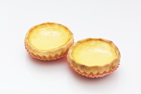 Egg tart, Hong Kong famous snack.