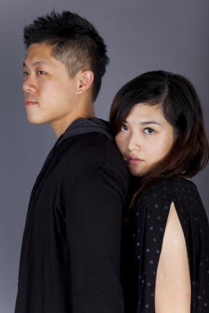 Asian couple  photo