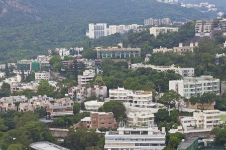 Hong Kong expensive apartments Stock Photo - 15395947