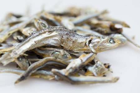 kipper: Dried fishes Stock Photo