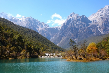 Mountain landscape in Lijiang, China. Stock Photo - 16394925