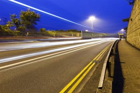 Traffic highway in city Stock Photo - 17358141
