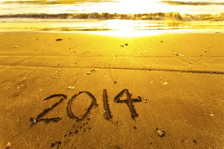 2014 words on sand photo