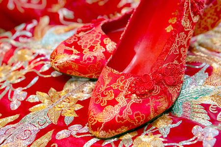 Chinese wedding shoes