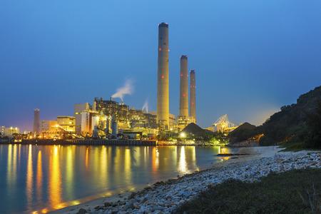 Energiecentrale Stockfoto