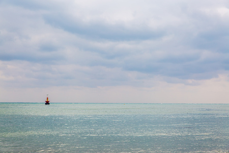the topical: Topical sea background Stock Photo