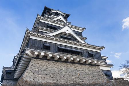 ninja ancient: Ancient castle in Japan Editorial