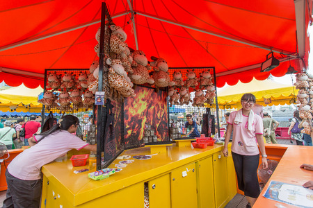 HONG KONG - SEP 3: Lai Yuen Super Summer 2015 in Central in September 3, 2015. Lai Yuen is opened in 1949 and closed in 1997 and finally re-open in 2015.