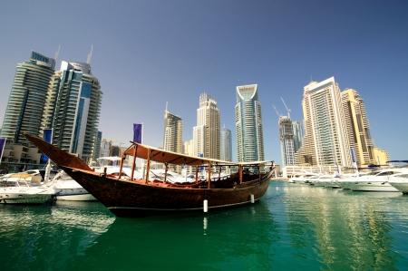 두바이 마리나, 아랍 에미리트 스톡 콘텐츠