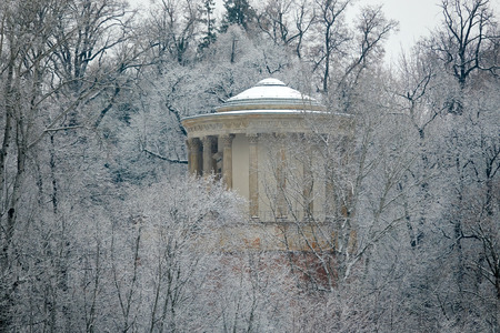 sibyl: Temple of the Sibyl in winter