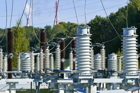 Electric power station transformer high-voltage equipment strategic object power unit. Power station transformer high-voltage equipment strategic object power