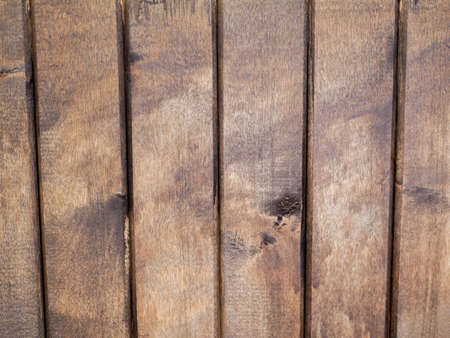 Varnished wooden vertical wall close-up. Background of wood. Background texture.