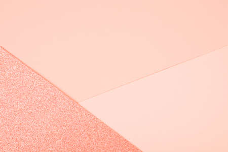 The abstract paper background, pastel soft colors. Minimal geometric shapes and lines background