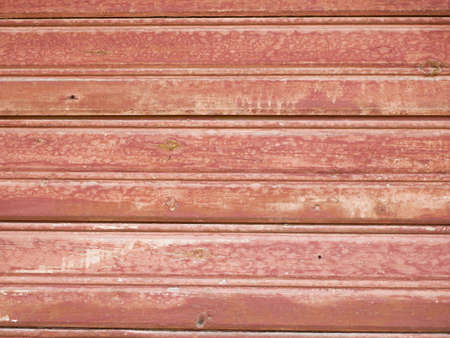 The texture of red old wood. Flat lay. High quality photo