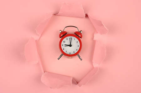 Pink paper gap and watch