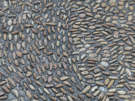 manlike: Passage stone small gravel walkway texture