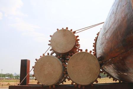 hand beats: The drum Thailand Stock Photo